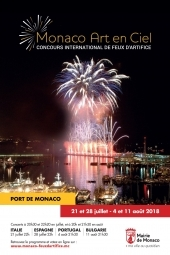 Monaco Art en Ciel - Concours International de Feux d'Artifice